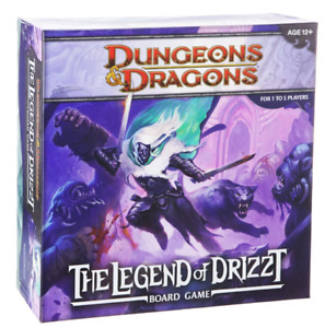 Dungeons & Dragons The Legend of Drizzt Board Game D&D - Fast and Free Shipping