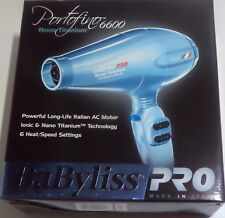 BaByliss PRO Nano Titanium Portofino Full-Size Dryer 2000 Watt Model BABNTB6610N