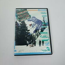 Rare Tackle Box Snowboarding DVD 2005 extreme sports film Bald E-Gal Productions