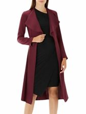 BNWT £139 €195 COAST Leigh Duster Jacket Coat 8 Work Wedding Occasion Wine Red