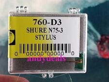 EVG 760-D3 , 78 rpm needle for SHURE V15 type II  SHURE V15 TYPE 2 V15 TYPE II