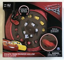 Disney Pixar Cars 3 Escape From Thunder Hollow Pick Em' Up Board Game McQueen Ma