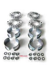 Kawasaki z1 kz 900 holders EXHAUST COLLARS & NUTS SET pipes holder clamps flange