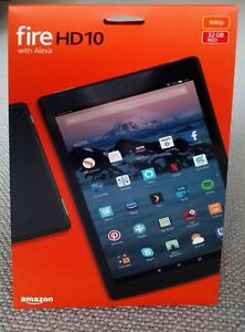 """AMAZON FIRE HD 10 TABLET (7th Generation) WITH ALEXA HANDS-FREE, 10.1"""" 32Gb"""