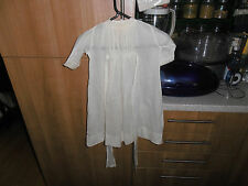 Vtg Privileged  Victorian Hand Stitched Infants Cotton Gown owner Melikoff