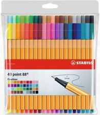 STABILO POINT 88 40 PC WALLET 8840-1 - 40 different colors -  fineliner 0.4mm