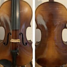 Antique Late 19th Century Violin 4/4 Beautiful Back and Ribs with Sound Sample