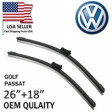 "New Top OEM Quality 26"" + 18"" Wiper Blades For 2013-2016 Volkswagen Golf Passat"