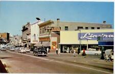 1950s Nanaimo Main Street Vancouver Island British Columbia Canada