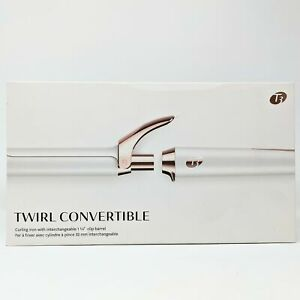 T3 Twirl Convertible Curling Iron Tong + Interchangable Barrel -NEW- Damaged Box
