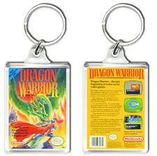 DRAGON WARRIOR NINTENDO NES KEYRING LLAVERO