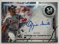 2019 Topps Museum Baseball Ozzie Smith 7/25 Autographed Card