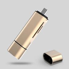 3 en 1 Tarjeta reader&usb Tipo C MICRO USB 2.0 Combo 2tb SD ¡! Adaptador OFERTA