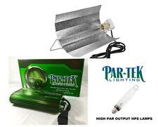 PAR-TEK LIGHTING 1000w Digital Ballast COMBO 1000w HPS & Wing Reflector SAVE $$