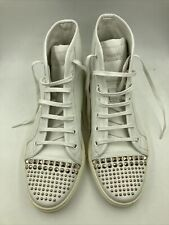 Authentic Vintage Gucci Leather High Top Shoes w/ Studs Size 39