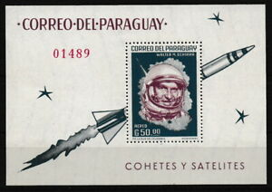Paraguay - Raumfahrt Block 36 postfrisch 1963 Mi. 1183