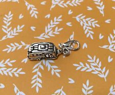 . Cute Clip charm Handmade craft jewelry making TRAILER,  HAPPY CAMPER