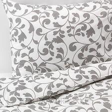 IKEA rostvin draps literie 140x200 cm Set de Linge de lit gris 2 pièces Set NEUF