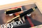 Delta Celebration Diamond,Ruby & Emerald Papillon LE Matching # Fountain Pen Set
