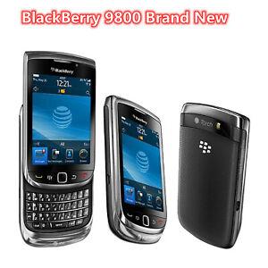Original New BlackBerry Torch Slider 9800 3G Mobile Phone Bluetooth WIFI QWERTY