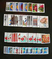 Canada 50 mint stamps no gum (P stamps). Face value of $50+