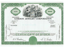 Gordon Jewerly Corporation 1969