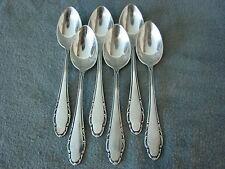 Wellner 410 Salzburg 6 Teelöffel 13 cm 90er Silberauflage