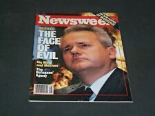1999 APRIL 19 NEWSWEEK MAGAZINE - MILOSEVIC: THE FACE OF EVIL - NW 554