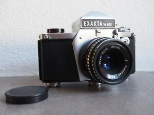 Exa EXAKTA VX 500 mit Meyer Optik Görlitz Q1 Domiplan 2.8/50 No.4373422