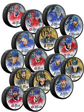 2021 Stanley Cup Semifinals Special Edition Glitter Hockey Puck w/Case - NEW