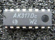 2x ak317dc dual operational transconductance amplifier