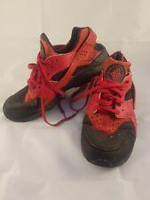 Nike Air Huarache Run Prm Red/Black Size UK 9 US 10 (704830 006)