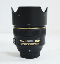 NIKON AF-S FX NIKKOR 58mm f/1.4 Lens