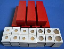 700 - 2x2 cardboard mylar coin holders flips for DIMES with 7 STORAGE BOXES new!