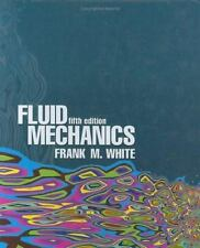 Fluid Mechanics, 5th Edition (McGraw-Hill Series in Mechanical Engineering), Whi