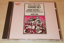 DVORAK-SYMPHONY NO. 3-WG FULL SILVER RING 1988 CD-NEEME JARVI-NEW