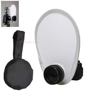New Fold 30cm Flash Diffuser For Canon Nikon DSR Camera Speedlite Flash Diffuser