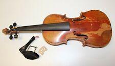 Alte Violine Geige, old Violin Violon Charles PONCIN, Bruxelles 1913
