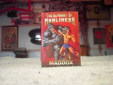 THE ALPHABET OF MANLINESS  MADDOX In Good Condition