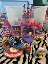 Littlest Pet Shop LPS Lot Furniture Castle Accessories - A Fairytale💜