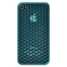 AMZER DIAMOND SOFT TPU SKIN FIT CASE COVER FOR APPLE iPHONE 4 4S 4CDMA - BLUE