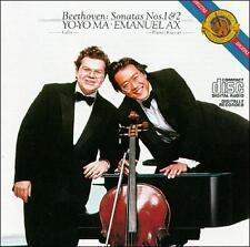 Beethoven: Sonatas for Cello & Piano Nos. 1 & 2, New Music