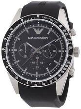 Runde polierte Armbanduhren mit Silikon -/Gummi-Armband für Erwachsene