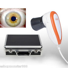 NUOVO Cura Occhi 5.0 mp USB Eye iriscope, IRIS iridology VIDEOCAMERA + Pro software, FCC, CE