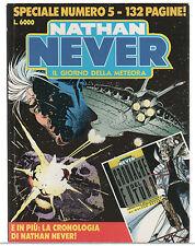 """Nathan Never Speciale 5 """"Il Giorno della Meteora"""" Serra Beretta Rizzo + albetto"""