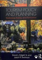 Tourism Policy and Planning Yesterday, Today, and Tomorrow 9781138491236