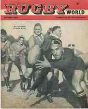 Ray Prosser Pontypool + Other Info In Rugby World Magazine October 1960 Edition