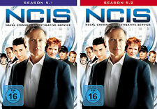 5 DVDs * NCIS -  STAFFEL / SEASON 5 ( 5.1 - 5.2 ) IM SET - NAVY # NEU OVP +