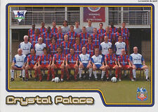 N°200 TEAM EQUIPE CRYSTAL PALACE STICKER MERLIN PREMIER LEAGUE 2005