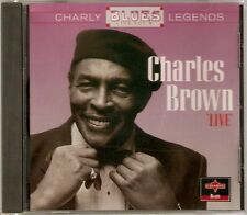 Charles Brown - Live Volume 8 CD 1995 NEW/SEALED